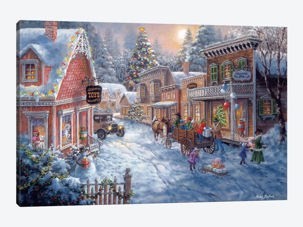 Good Old Days by Nicky Boehme 1-piece Canvas Wall Art