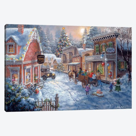 Good Old Days Canvas Print #BOE69} by Nicky Boehme Canvas Art