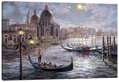 Grand Canal Venice Canvas Art Print
