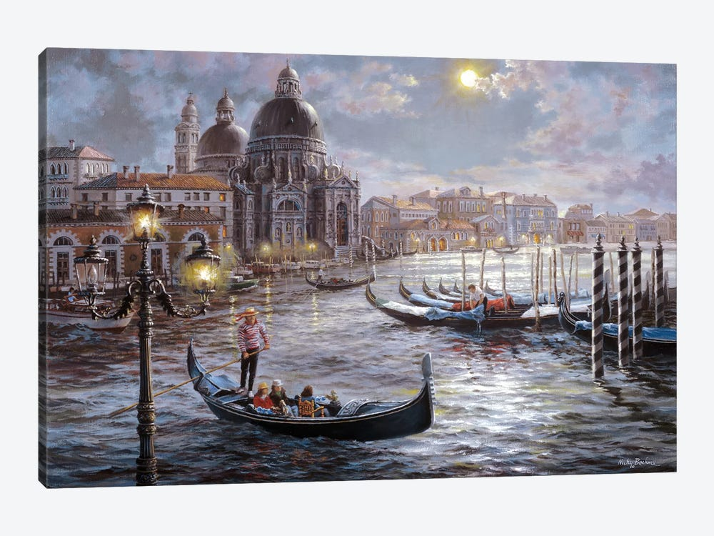 Grand Canal Venice by Nicky Boehme 1-piece Canvas Art