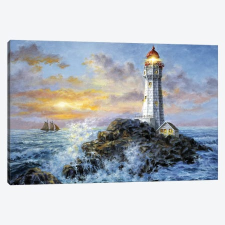 Guardian In Danger's Realm Canvas Print #BOE72} by Nicky Boehme Art Print