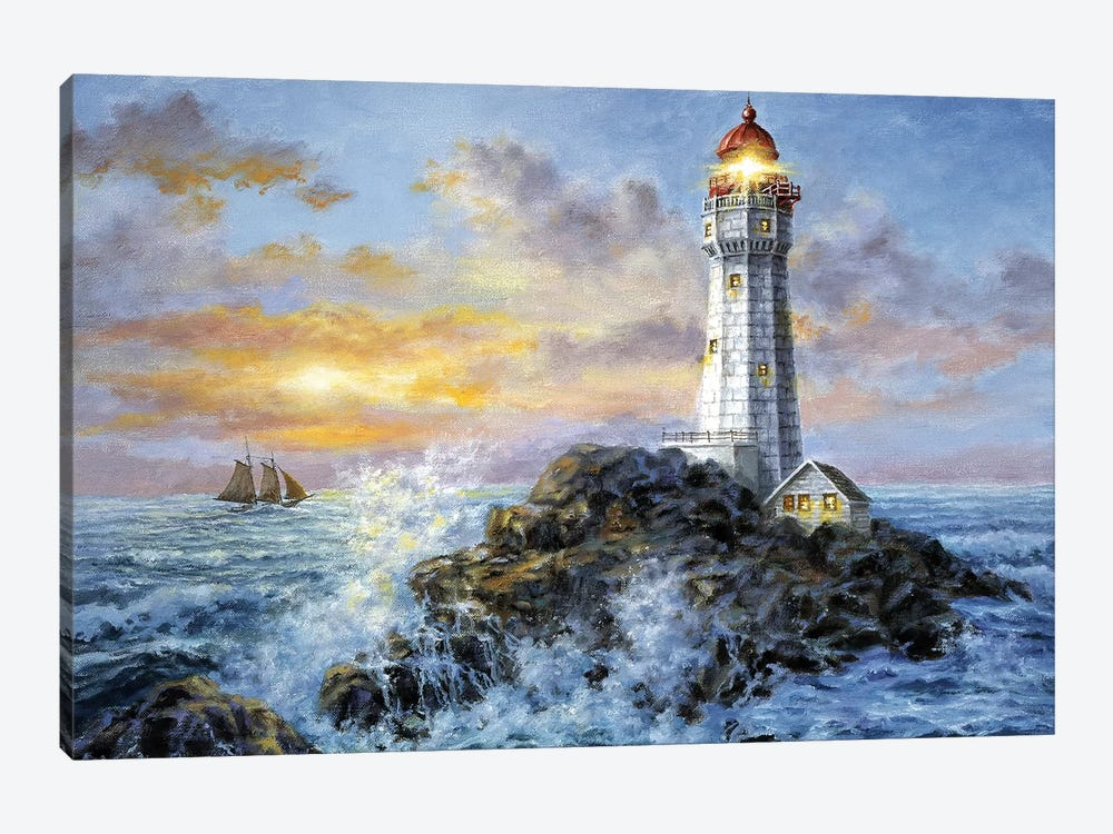 Guardian In Danger's Realm by Nicky Boehme 1-piece Canvas Art
