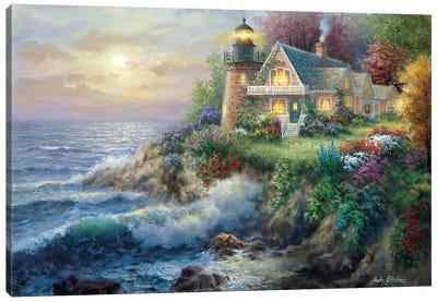 Guardian Of The Sea Canvas Art Print