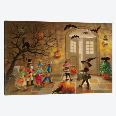 Halloween Fun Canvas Print #BOE75} by Nicky Boehme Canvas Wall Art