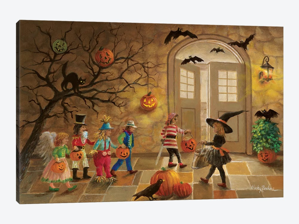 Halloween Fun by Nicky Boehme 1-piece Canvas Print