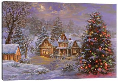 Happy Holidays Canvas Art Print