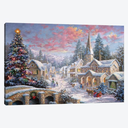 Heaven On Earth I} by Nicky Boehme Canvas Wall Art