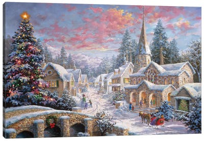 Heaven On Earth I Canvas Art Print