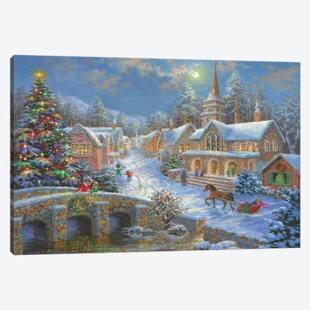 Heaven On Earth II Canvas Print #BOE82} by Nicky Boehme Canvas Wall Art