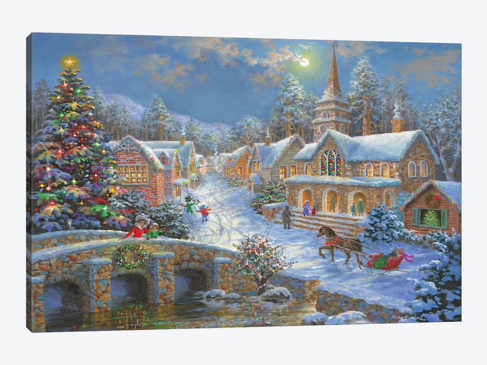 Heaven On Earth II by Nicky Boehme 1-piece Art Print