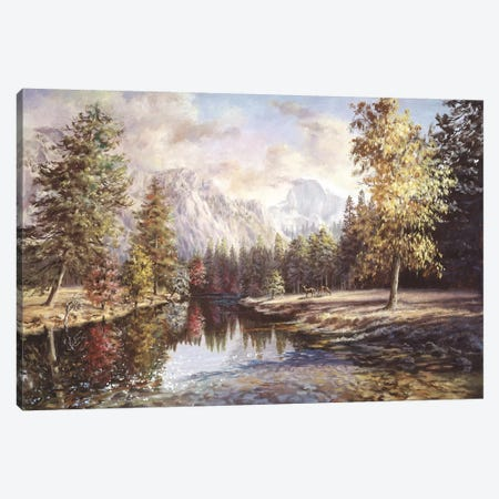 High Sierras Canvas Print #BOE84} by Nicky Boehme Canvas Art Print