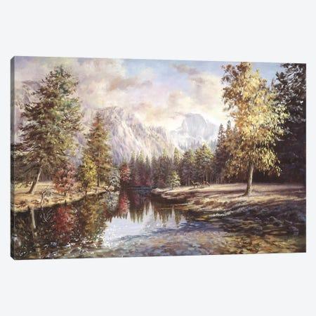 High Sierras Canvas Print #BOE84} by Nicky Boehme Canvas Art Print