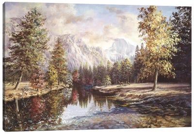 High Sierras Canvas Art Print