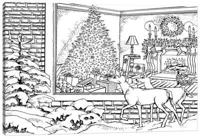 Holiday I Canvas Print #BOE85