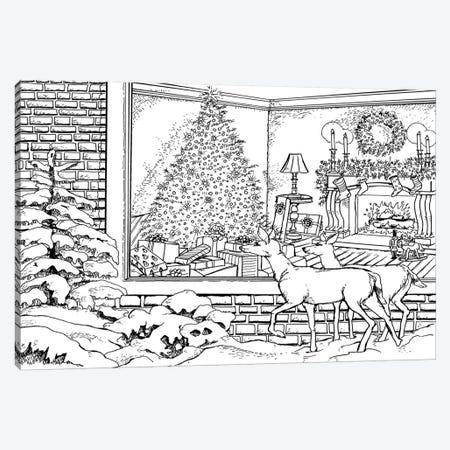 Holiday I Canvas Print #BOE85} by Nicky Boehme Art Print
