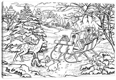 Holiday II Canvas Print #BOE86