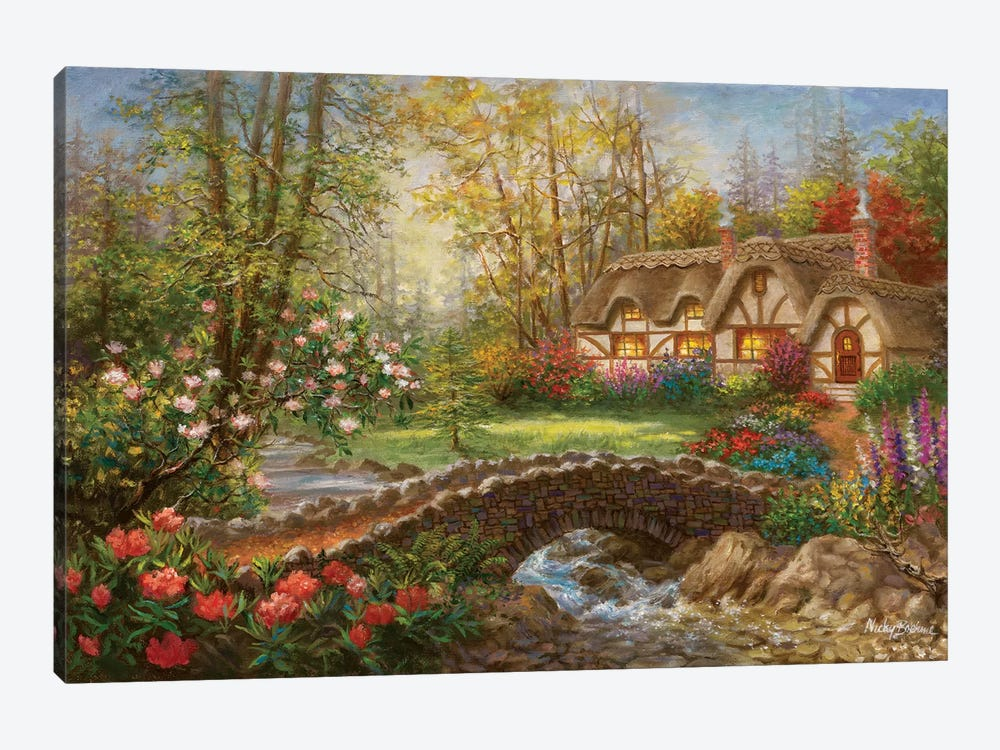 Home Sweet Home by Nicky Boehme 1-piece Canvas Print