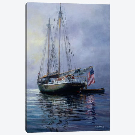 In The Still At Dawn Canvas Print #BOE90} by Nicky Boehme Canvas Art Print