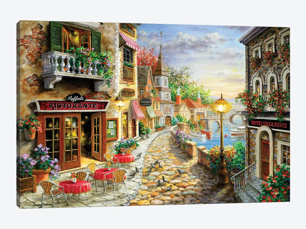 Invitation To Dine by Nicky Boehme 1-piece Canvas Print