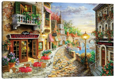 Invitation To Dine Canvas Art Print