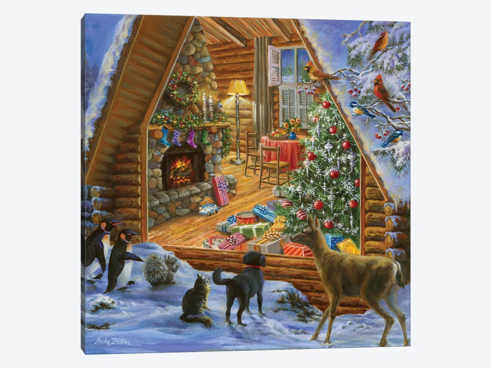 Let's Get Together by Nicky Boehme 1-piece Canvas Wall Art
