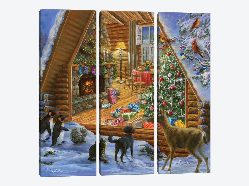 Let's Get Together by Nicky Boehme 3-piece Canvas Artwork