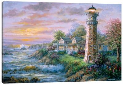 Lighthouse Haven II Canvas Art Print