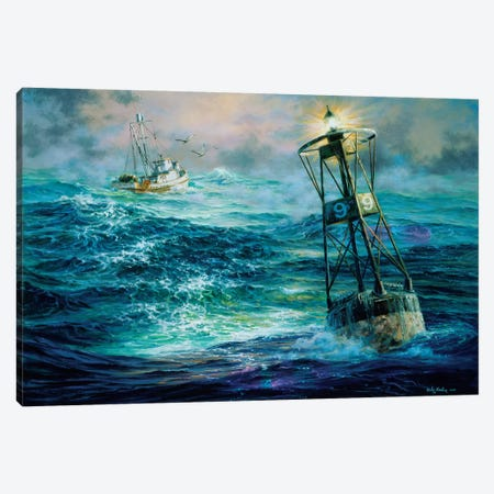 Almost Home Canvas Print #BOE9} by Nicky Boehme Canvas Wall Art