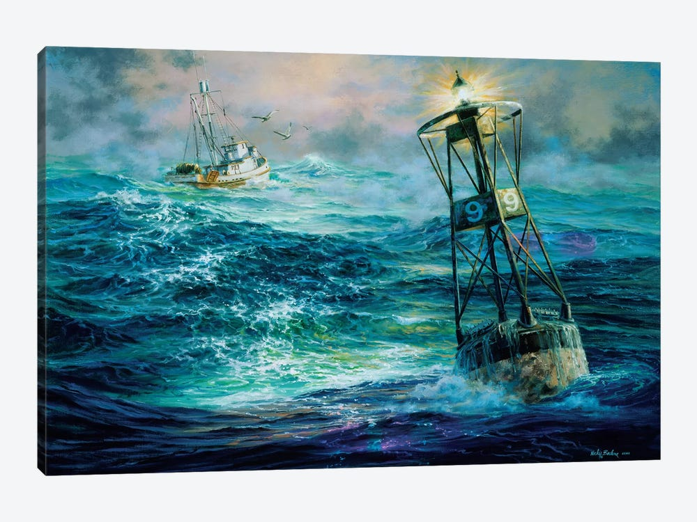 Almost Home by Nicky Boehme 1-piece Canvas Art Print