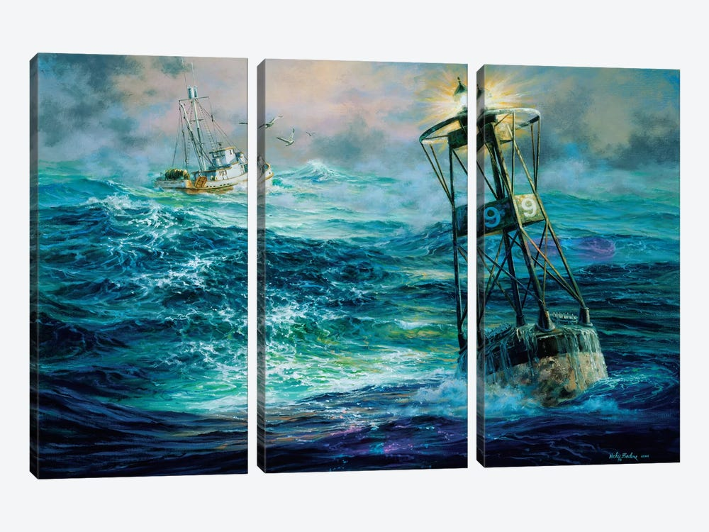 Almost Home by Nicky Boehme 3-piece Art Print