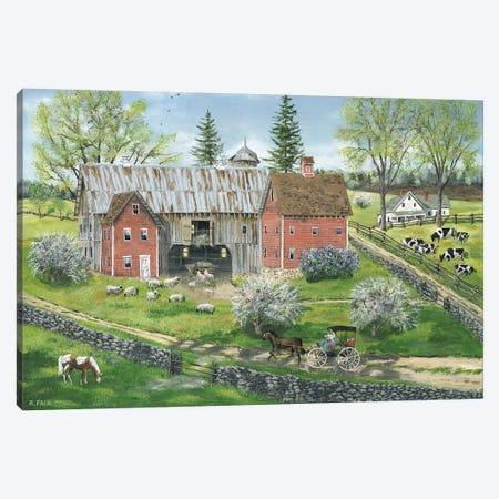 Spring's Promise Canvas Print #BOF118} by Bob Fair Art Print