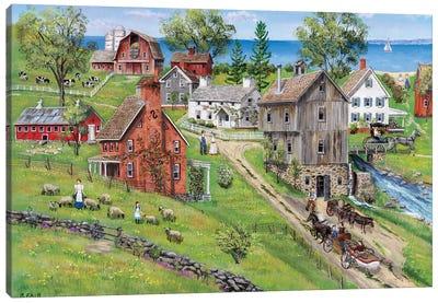 Sweet Meadow Farms Canvas Art Print