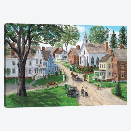 The Perfect Time Canvas Print #BOF131} by Bob Fair Canvas Print