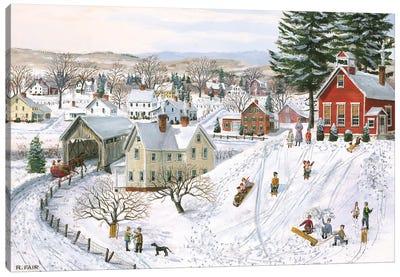 Winter Recess Canvas Art Print