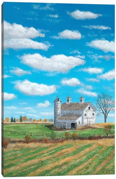 Autumn Skies Canvas Art Print