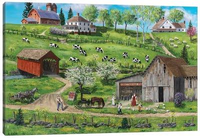 Buttermilk Farm Canvas Art Print