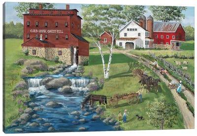 Cold Creek Mill Canvas Art Print