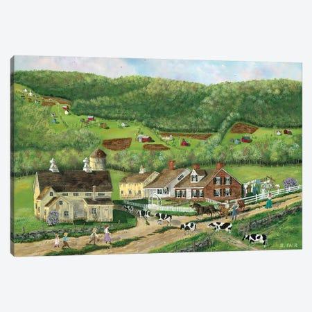 Coming Home Canvas Print #BOF33} by Bob Fair Canvas Art