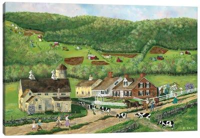 Coming Home Canvas Art Print