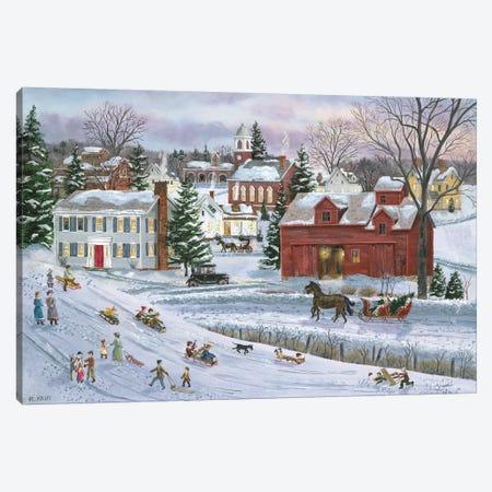 December Eve Canvas Print #BOF43} by Bob Fair Canvas Print