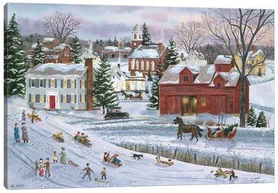 December Eve Canvas Art Print