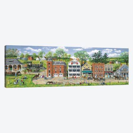 Depot Street Canvas Print #BOF45} by Bob Fair Canvas Art