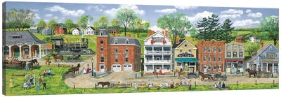 Depot Street Canvas Art Print