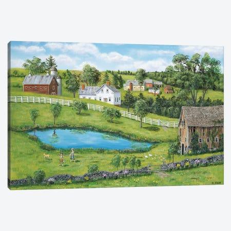 Forgotten Barn Canvas Print #BOF51} by Bob Fair Canvas Art