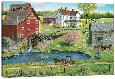 Granger's Mill Canvas Art Print