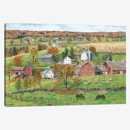 High Pastures Canvas Print #BOF65} by Bob Fair Canvas Wall Art