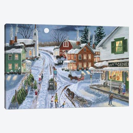 Ikes General Store Canvas Print #BOF71} by Bob Fair Canvas Art