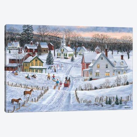 Joyful Season Canvas Print #BOF72} by Bob Fair Canvas Artwork