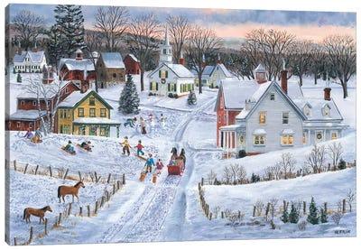 Joyful Season Canvas Art Print