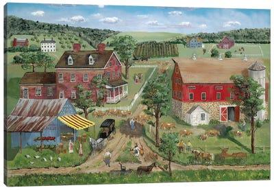 Ma's Farm Stand Canvas Art Print